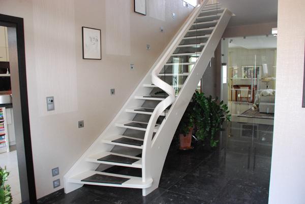 Treppe Modern wangentreppen modern tischlerei burkhard schulze