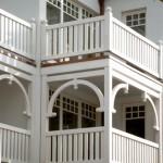 Villa in Binz (Insel Rügen) Balkone und Geländer